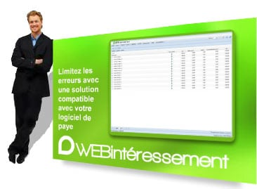 WEBintéressement - logiciel de gestion de l'intéressement en SaaS distribué par DWS Lille Nord