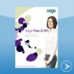 Brochure présentation Sage Paie et RH distribué par DWS