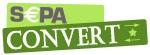 Logo SEPA-Convert, logiciel de conversion SEPA développé par DWS