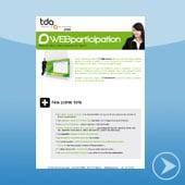 WEBparticipation - logiciel de gestion de la participation par TDA International distribué par DWS Lille Nord
