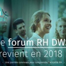 Save the date : Le FORUM RH 2018 revient le 15 mai prochain